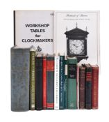 CLOCK AND WATCHMAKING, Twelve volumes: