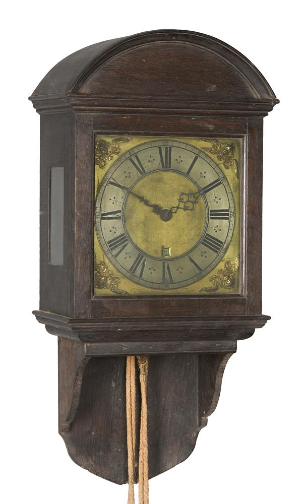 A WILLIAM POSTED THIRTY-HOUR LONGCASE CLOCK MOVEMENT WITH TEN-INCH DIAL