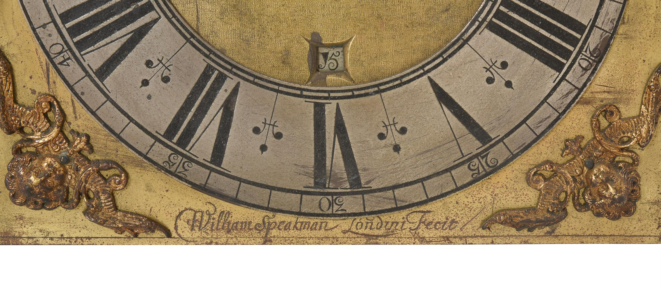 A WILLIAM POSTED THIRTY-HOUR LONGCASE CLOCK MOVEMENT WITH TEN-INCH DIAL - Image 6 of 6