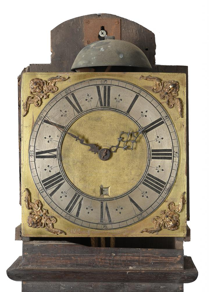 A WILLIAM POSTED THIRTY-HOUR LONGCASE CLOCK MOVEMENT WITH TEN-INCH DIAL - Image 2 of 6