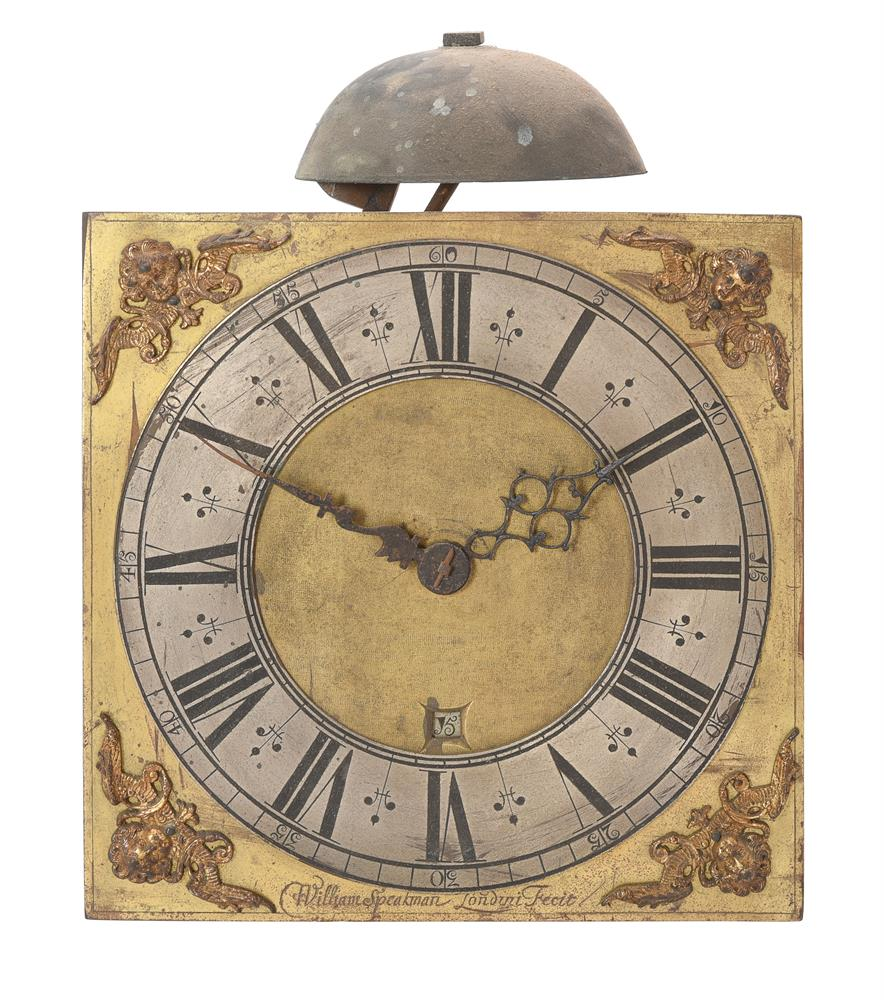 A WILLIAM POSTED THIRTY-HOUR LONGCASE CLOCK MOVEMENT WITH TEN-INCH DIAL - Image 3 of 6