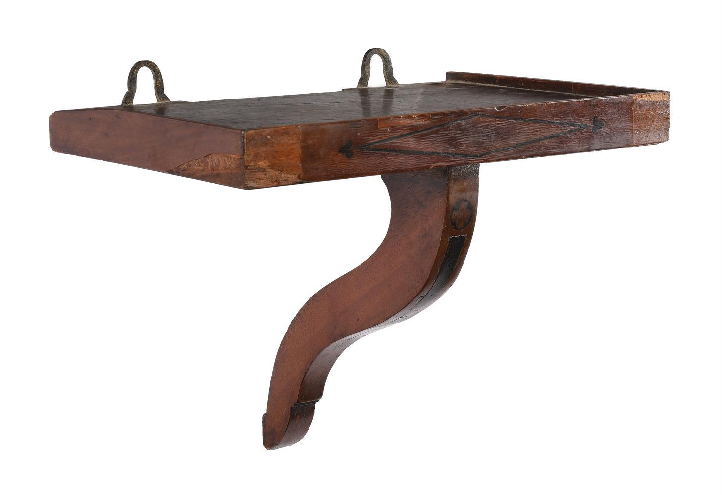A RARE GEORGE II PROVINCIAL MAHOGANY TABLE CLOCK - Image 3 of 3