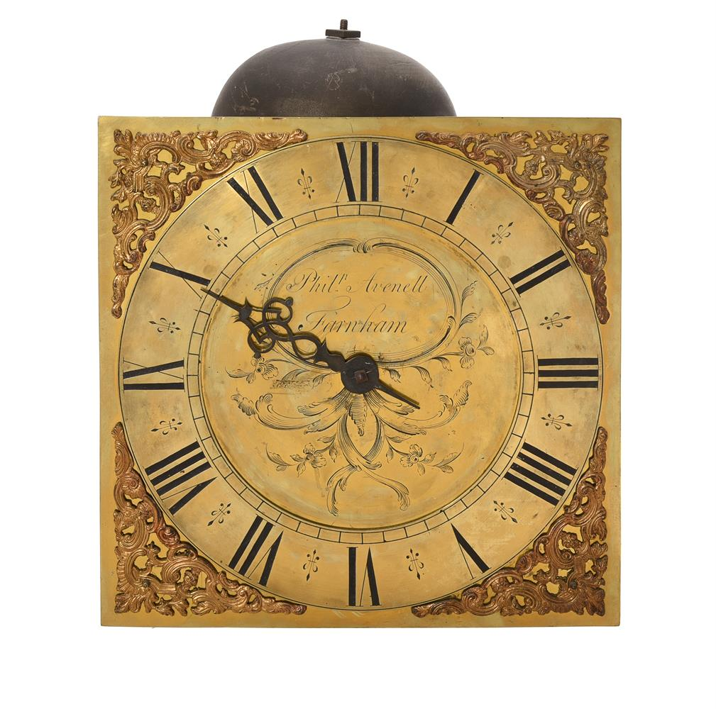 A GEORGE III OAK THIRTY-HOUR LONGCASE CLOCK - Image 2 of 4
