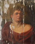 AFTER PETER PAUL RUBENS (1577-1640), 19TH CENTURY CONTINENTAL SCHOOL, PORTRAIT OF THE EMPEROR NERO