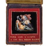 ATTRIBUTED TO CAVALIERE MICHELANGELO BARBERI (ITALIAN, 1787-1867), A MICROMOSAIC