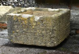 A COTSWOLD LIMESTONE TROUGH, LATE 18TH/EARLY 19TH CENTURY