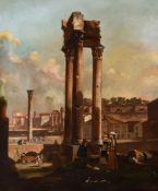 VINCENZO GIOVANNINI (ITALIAN, 1817-1903), 'THE ROMAN FORUM'