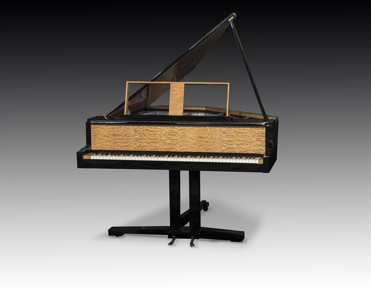 † LINDNER; A 6'2'' 'TILTING WING' SCHWANDER ACTION GRAND PIANO, CIRCA 1970 - Image 2 of 5