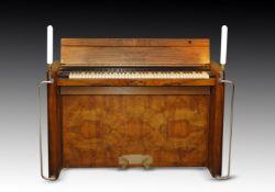 † EAVESTAFF; A MINI UPRIGHT PIANO, CIRCA 1930