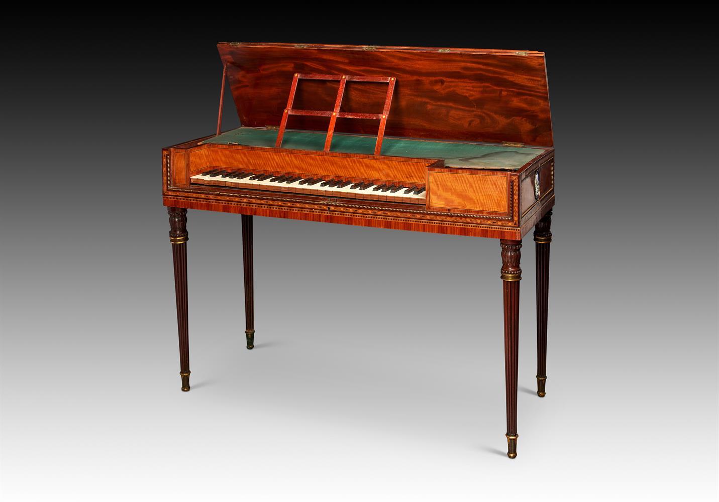 Y† AN ENGLISH SQUARE PIANO, CIRCA 1795
