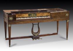 Y† FREY, PARIS; A 5 ½ OCTAVE SQUARE PIANO, 1811