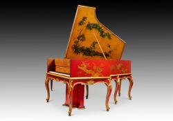 Y† PLEYEL, PARIS; A RARE 7'6'' 'AUTO PLEYELA' GRAND PIANO, NUMBER 17839, 1925