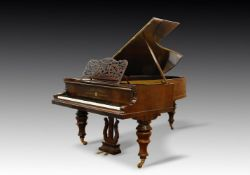 Y† BLUTHNER, LEIPZIG; AN EARLY GRAND PIANO, 1854