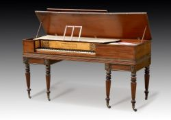 Y† BROADWOOD, A 5 ½ OCTAVE SQUARE PIANO, NUMBER 19060, 1815