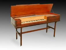 Y BROADWOOD; A 5 OCTAVE FF-F3 SQUARE PIANO, 1786