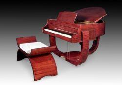 "† STROHMENGER, LONDON; A 4'2"" ART DECO GRAND PIANO, NUMBER 20352 CIRCA 1936"