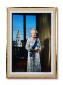 John Swannell (British b. 1946), HM Queen Elizabeth II's Diamond Jubilee