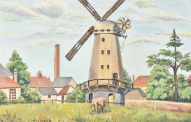 λ Lilian Hawthorn (British 1909-1996), Upminster Mill