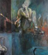 λ Lesley Halliwell (British b.1965), Reflection
