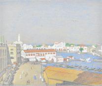 λ Ethelbert White (British 1891-1972), Port Scene