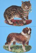 λ Peter Blake (British b. 1932), 'Cat & Dog'