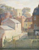 λ John Bulloch Souter (British 1890-1972), Village Scene