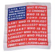 Barbara Kruger (American b. 1945), Untitled (Flag 3)