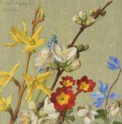 λ Eliot Hodgkin (British 1905-1987), Mixed spring flowers