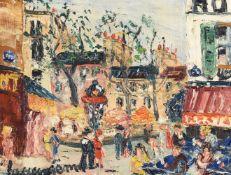 λ Lucien Genin (French 1894-1958), Street scene