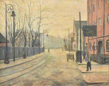 λ Elwin Hawthorne (British 1905-1954), Bow Road
