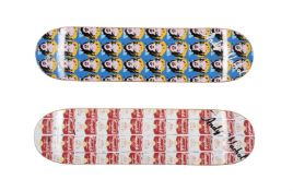 After Andy Warhol, Skate Decks (Campbell's Soup & Marilyn)