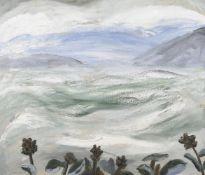 λ Winifred Nicholson (British 1893-1981), Landscape Under Snow, Eigg