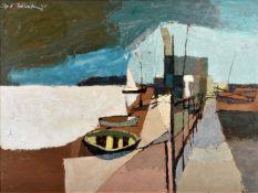 λ Clifford Fishwick (British 1923-1997), Boats at rest
