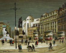 λ Arthur Delaney (British 1927-1987), Piccadilly Gardens