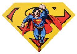 Steve Kaufman (American 1960-2010), Superman shield