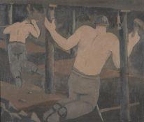 λ George Bissill (British 1896-1973), Miners