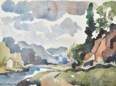 λ Walter Steggles (British 1908-1997), Dinan