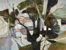 λ Helen Hale (British b. 1936), The Road to the Village
