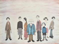 λ Laurence Stephen Lowry (British 1887-1976), His family
