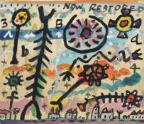 λ Alan Davie (Scottish 1920-2014), Now Restored