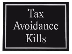 λ Jeremy Deller (British b. 1966), Tax Avoidance Kills