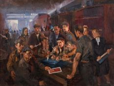 Sergei Mikhailovich Kamanin (Russian 1915-2002), Ship builders