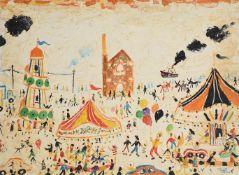 λ Simeon Stafford (British b. 1956), All the fun of the fair