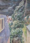 """λ Reginald Brill (British 1902-1974), Sketch for """"Nightmare"""""""