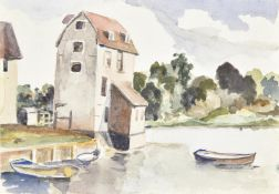 λ Elwin Hawthorne (British 1905-1954), Tide Mill