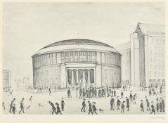 λ Laurence Stephen Lowry (British 1887-1976), The Manchester Reference Library