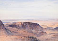 Kenneth Jack (Australian 1924-2006), Towards Lake Frome (Salt), South Australia