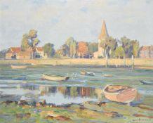 Augustus William Enness (British 1876-1948), Low Tide
