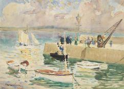 Richard Hayley Lever (American 1876-1958), West Pier