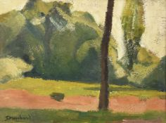 Jean Marchand (French 1883-1940), Landscape with tree